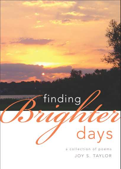 Book Cover, Finding Brighter Days