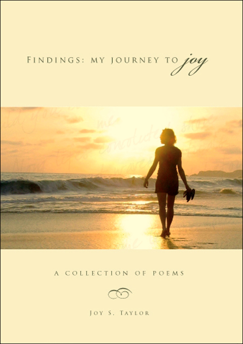 Book Cover, Findings:  My Journey to Joy